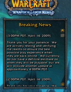 World of Warcraft...denied!